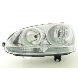 Farol Frontal VW Golf 5 03-08 / Jetta 05- Esquerdo