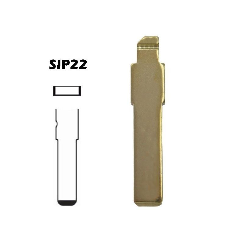 Comando chave NE75 2 botões Land-Rover