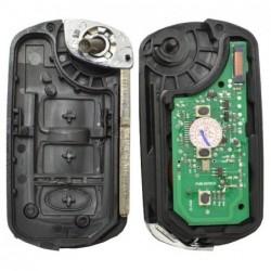 Carcaça chave NE75 2 botões Land-Rover