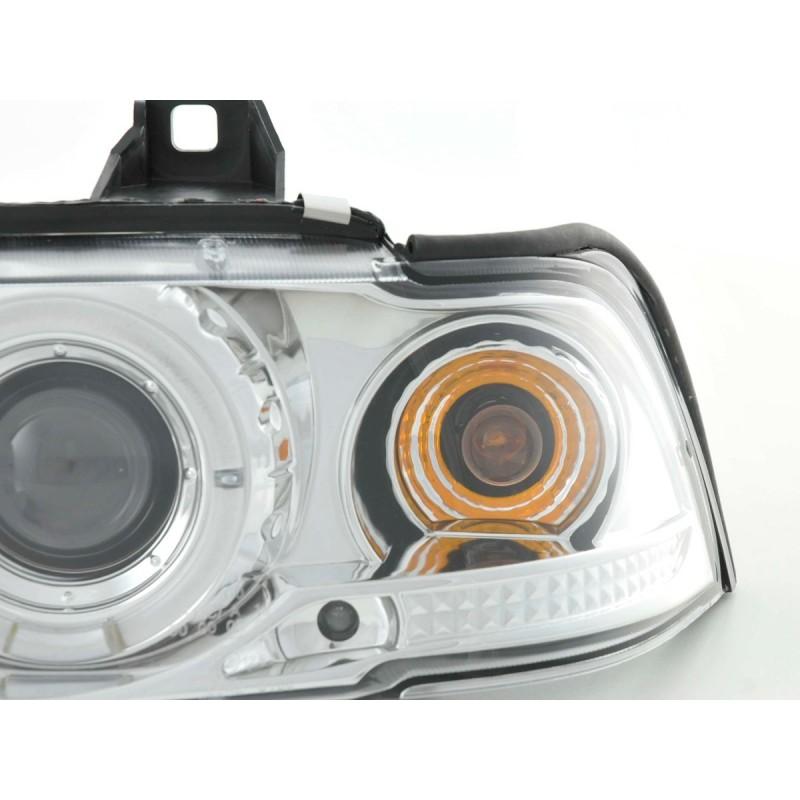 Farol Frontal BMW X5 E53 Esquerdo e Direito 99-03
