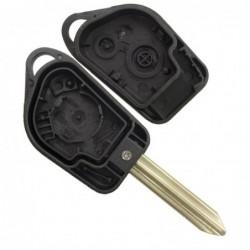 Borracha de 3 botões para chave Citroen Peugeot