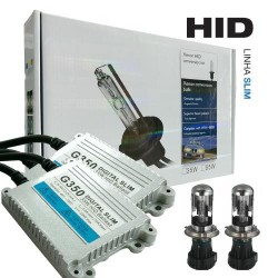 KIT BI-XENON SLIM H4 6000K 12V