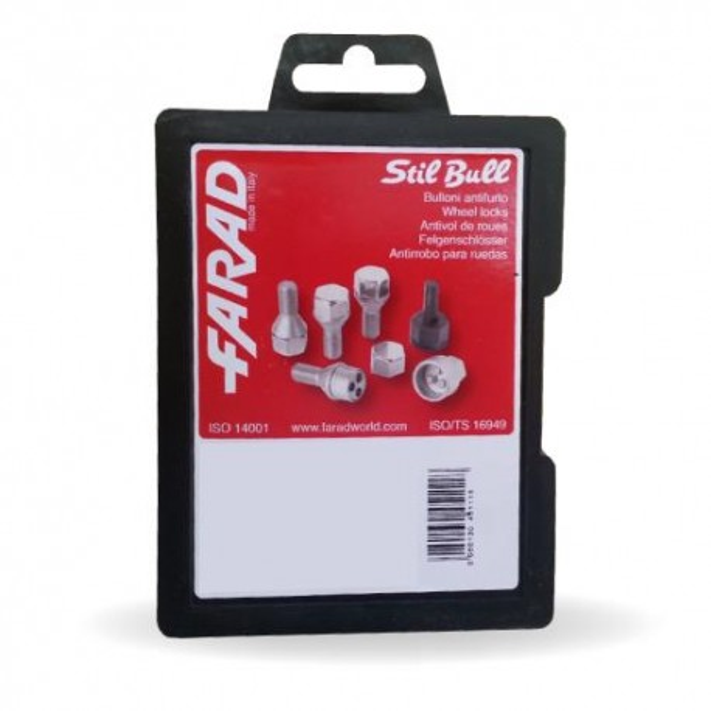 Pernos Segurança M12X1.25 FARAD STIL-BULL AH2