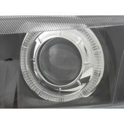 T-shirt VW Golf Evolução Mulher Preto