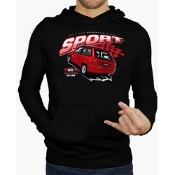 Hoodie CItröen AX Sport Preto