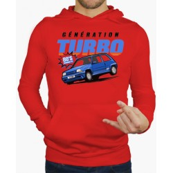 Hoodie Renault Turbo Vermelho
