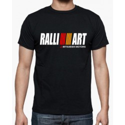 T-shirt RalliArt Preto