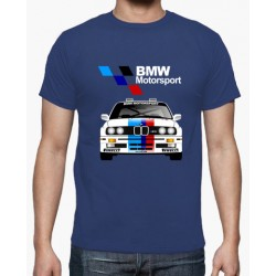 T-shirt BMW Motorsport Azul