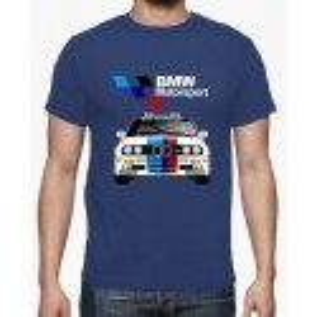 T-shirt BMW Motorsport Azul