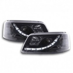 VW Bus T5 LED Farois 03-09 Preto