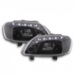 VW Touran / VW Caddy Fárois LED 03-06 Preto