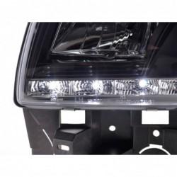 Daylight headlights LED DRL look Mercedes-Benz S-class (221) Yr. 05-09 black