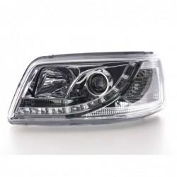 Daylight headlights with LED DRL look Opel Zafira A Yr. 99-04 black