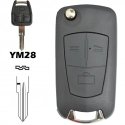 Kit conversão chave Opel 3 botões