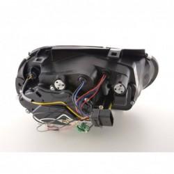 headlights Daylight LED DRL look  Porsche Boxster Typ 987 year 04-09 black
