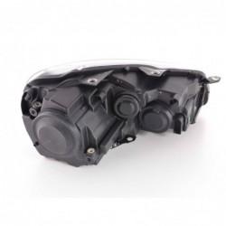 Xenon Daylight headlights with LED lightbar DRL Audi A6 4F Yr. 04-08 black