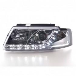 Daylight headlights with LED DRL look Audi A3 8L Yr. 96-00 black