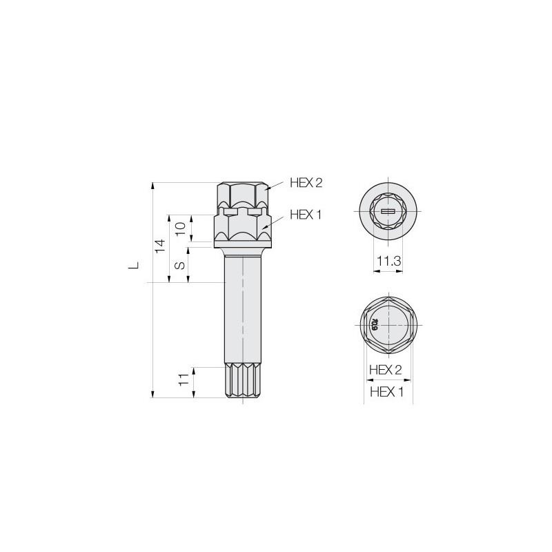 Daylight headlights with LED DRL look Audi A4 B5 8D Yr. 95-99 black