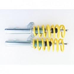 Daylight headlights with LED lightbar DRL look Audi A6 4F Yr. 04-08 black