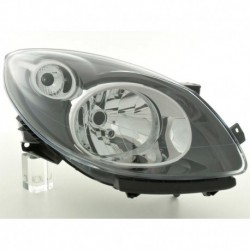 Spare parts headlight right Renault Twingo (N) Yr. 07-, black