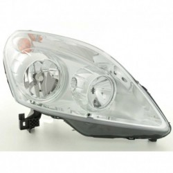 Spare parts headlight right Opel Zafira B Yr. 08-, chrome