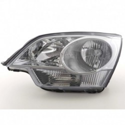 Spare parts headlight left Opel Antara Yr. 06-, chrome