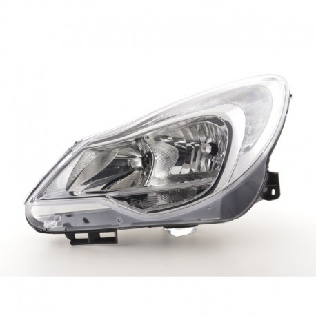 Spare parts headlight left Opel Corsa D Yr. from 2011