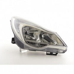 Spare parts headlight right Opel Corsa D Yr. from 2011