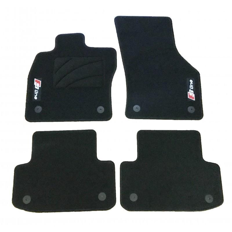Tapetes para AUDI A6 C6 Restyling S-line Premium (2007-2011)