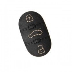 Botões borracha para VW - 3 botões