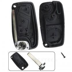 Chevrolet 3 botões carcaça e chave