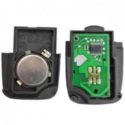 Carcaça para Comando 2 botões Volkswagen e Audi