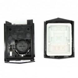Carcaça comando IR 3 botões + suporte pilha Mercedes
