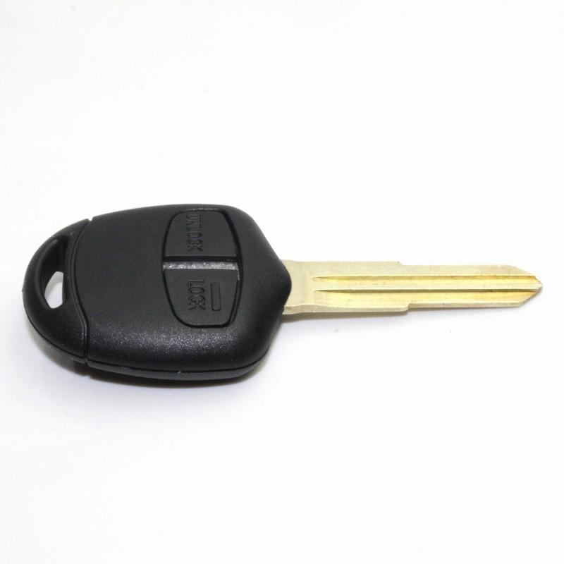 Carcaça chave redonda 2 botões Mitsubishi