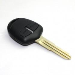 Carcaça chave retrátil 2 botões Opel