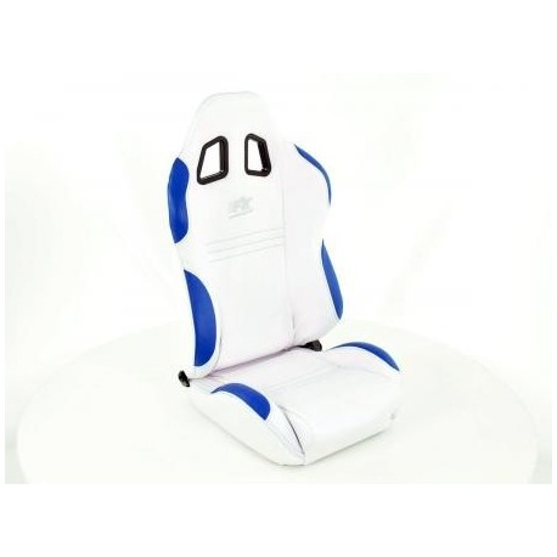 Conjunto 2 Backets New York Branco / Azul Costura Azul