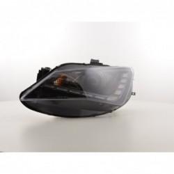 Conjunto 2 Backets Racecar Napa Preto / Amarelo