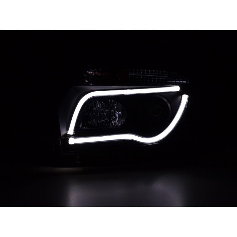 Sport Seat Set used half bucket seat synthetic Leather black seam black